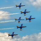 The Breitling Jets in Delta Formation by Colin Smedley
