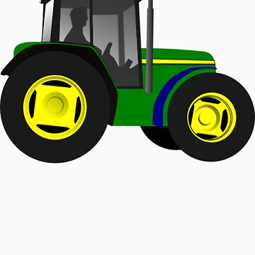 Tractor by whitetigerau