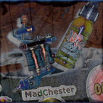 MadChester Inky Chick by DreddArt