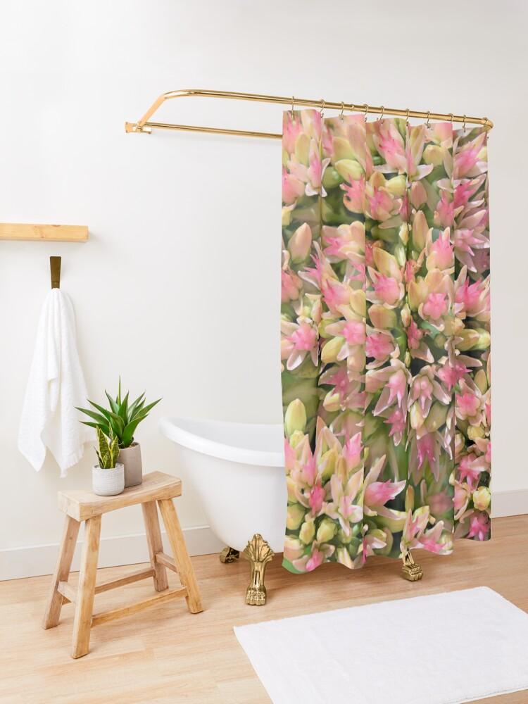 Alternate view of Autumn Joy Shower Curtain