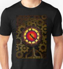 Brass Cogwork Heart T-Shirt