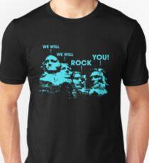 We Will Rock You Mt Rushmore T-Shirt