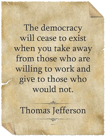 Thomas Jefferson Quote by morningdance