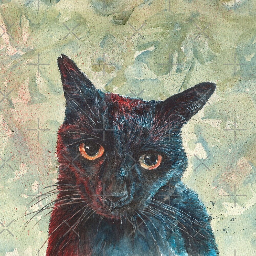 Pooky the Black Cat by MotiBlack