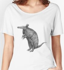 Pencil drawn armadillo Women's Relaxed Fit T-Shirt