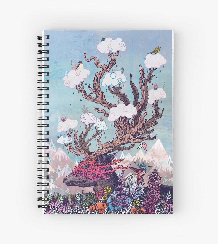 «Espíritu de viaje (ciervos)» de MatMiller