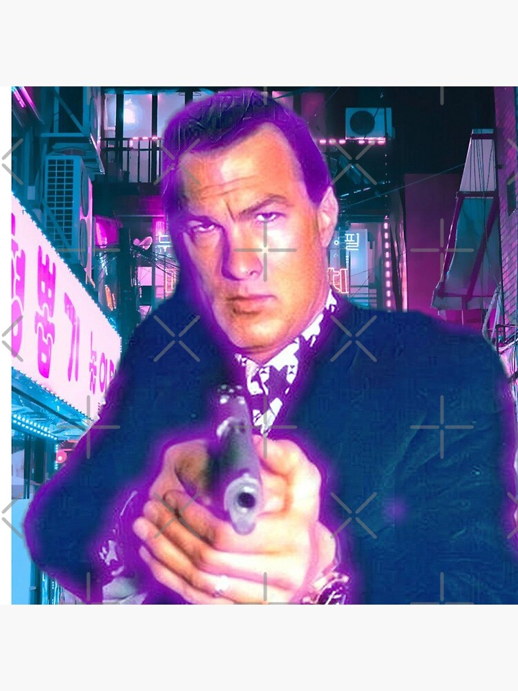 Steven seagal by LaurenceS06
