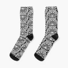 modernized greek seamless pattern Sock