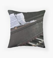 Old Time Sing Along Throw Pillow