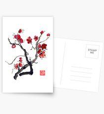 Plum Blossom Postcards