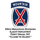 10th Mountain with text by jcmeyer