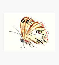 Butterflier Art Print