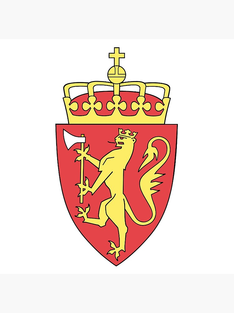 Coat of arms of Norway. by TOMSREDBUBBLE