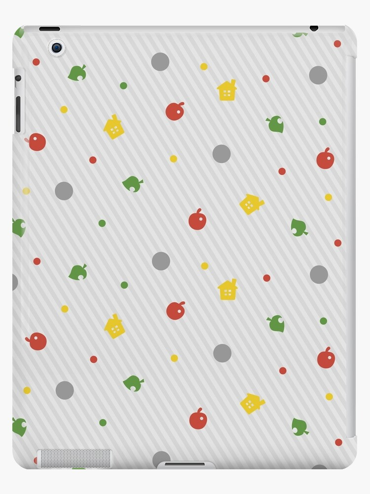 ANIMAL CROSSING NEW LEAF PATTERN IPad Cases Skins By Purplepixel Impressive Animal Crossing New Leaf Patterns