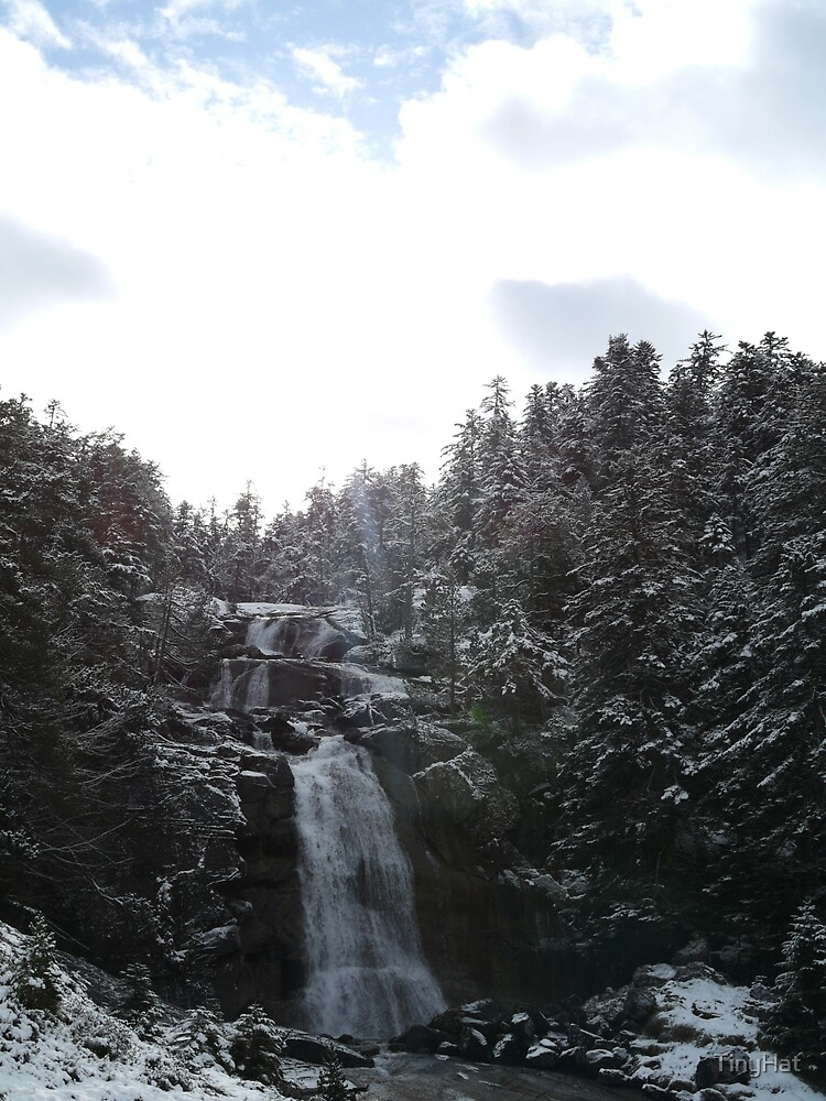 Winter Waterfall by TinyHat