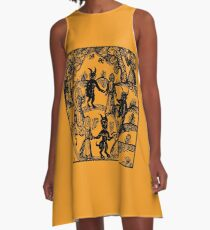 Dance with the Devil  A-Line Dress