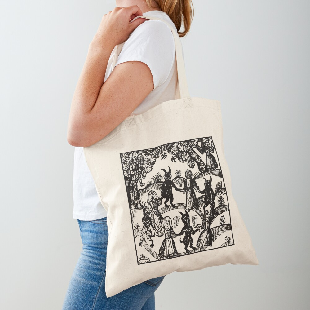 Dance with the Devil  Tote Bag