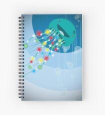 A Very Jelly Christmas Spiral Notebook