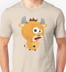 Cartoon Ox Unisex T-Shirt