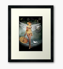 Looking Back, Moving Forward Framed Print