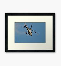 Navy Helo Framed Print