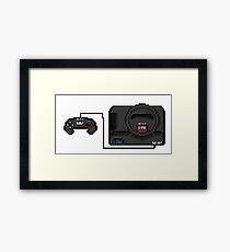 Sega Mega Drive - a true pixel classic! Framed Print