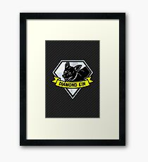 Diamond Ein Framed Print