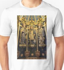 Inside the Font Cover At ST. Wulframs Church, Grantham Unisex T-Shirt