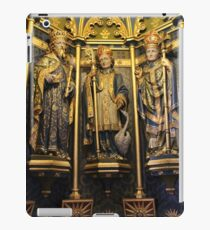 Inside the Font Cover At ST. Wulframs Church, Grantham iPad Case/Skin