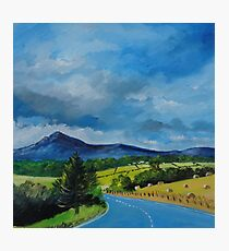 Bennachie from the Tyrebagger Photographic Print