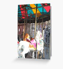 Merry Go Round- Brooklyn Greeting Card