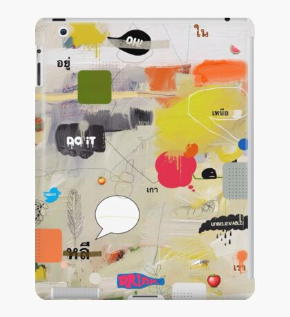 messages 012 iPad Case/Skin