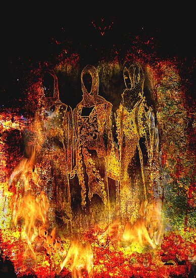 Quot Shadrach Meshach And Abednego Quot Posters By Geraldine