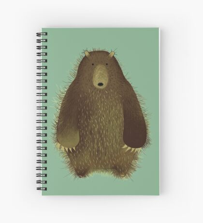 Barnsley the Big Bear. Spiral Notebook