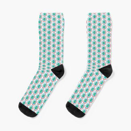Kazakhstani American Multinational Patriot Flag Series Socks
