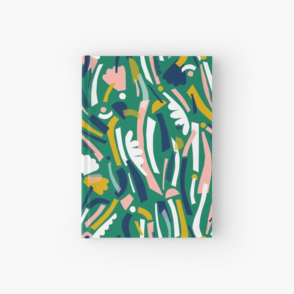 Flowerbed II Hardcover Journal