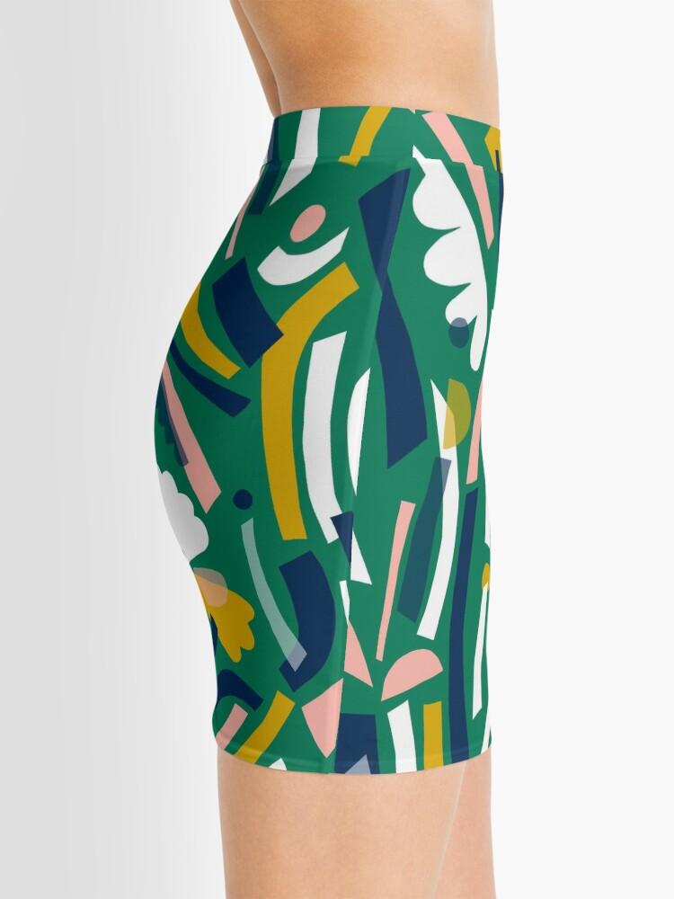 Alternate view of Flowerbed II Mini Skirt