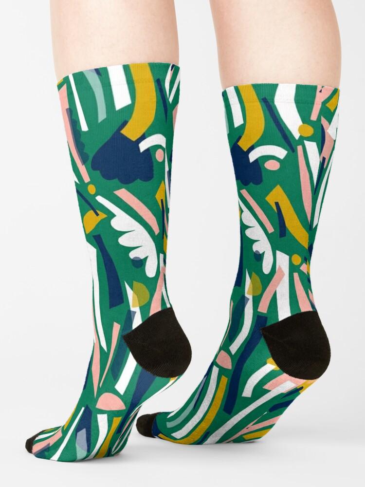 Alternate view of Flowerbed II Socks