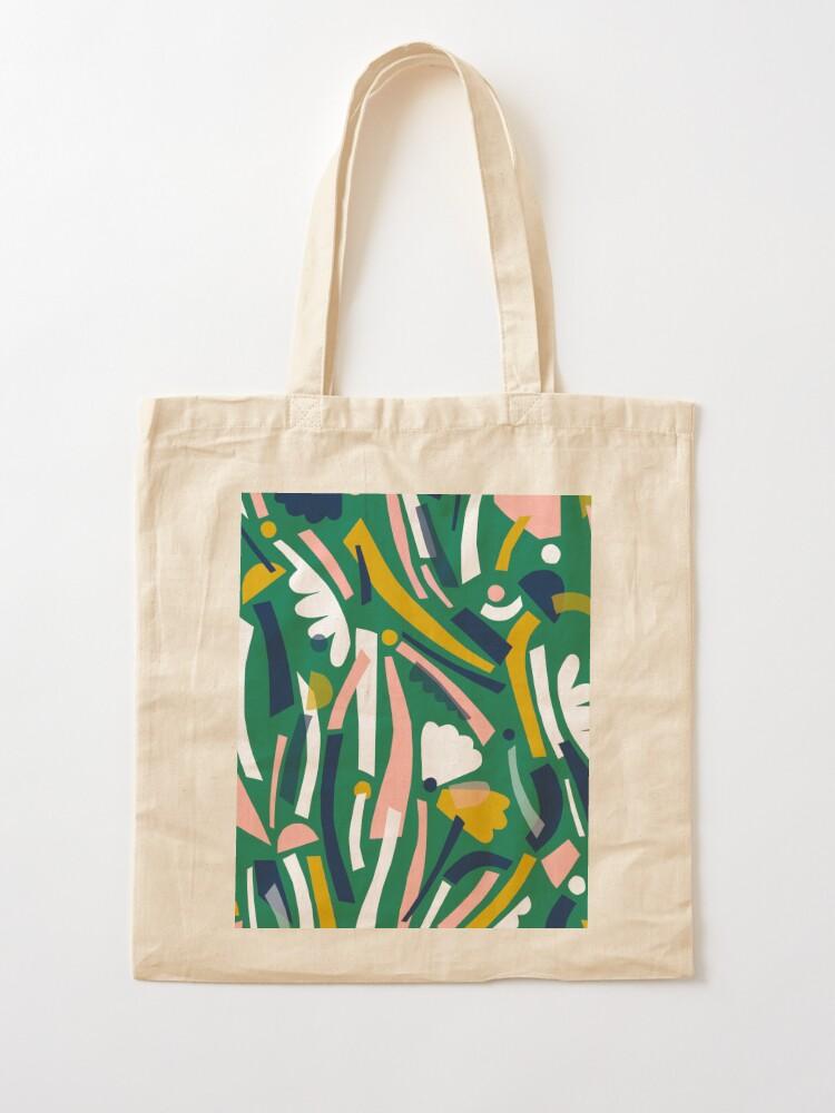 Alternate view of Flowerbed II Tote Bag