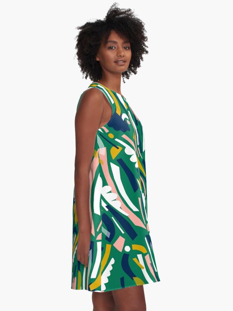 Alternate view of Flowerbed II A-Line Dress