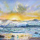 Croagh Patrick from Clare Island by Joe Trodden
