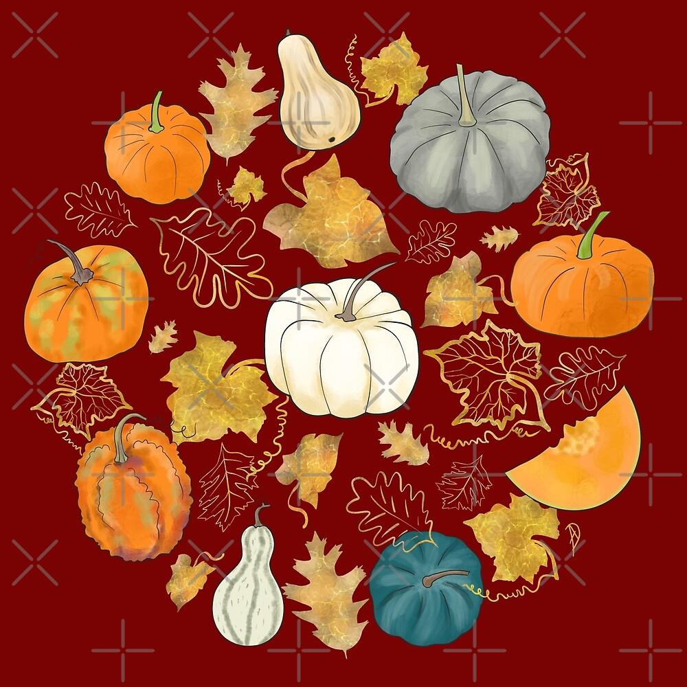 Pumpkin Harvest Season by Andreea Dumez