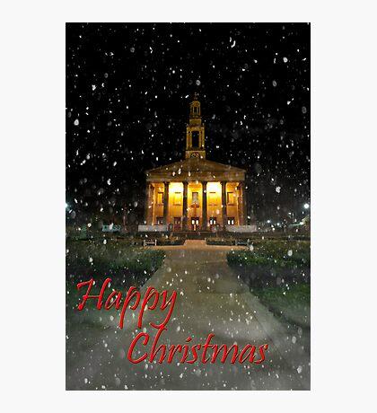 Happy Christmas Photographic Print