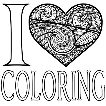 I  Love Coloring by dkbodo