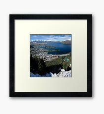 View of Queenstown Framed Print