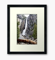 Yosemite Waterfall, Yosemite National Park Framed Print