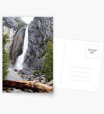 Yosemite Waterfall, Yosemite National Park Postcards