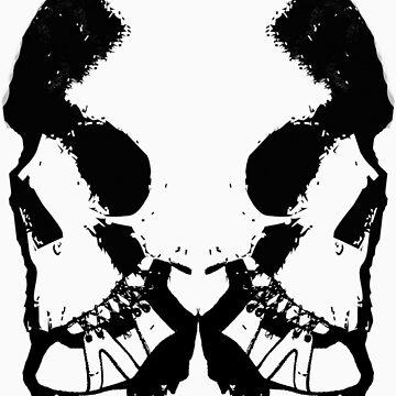croc skulls by damdirtyapeuk