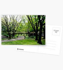 Central Park, New York in Spring Postcards