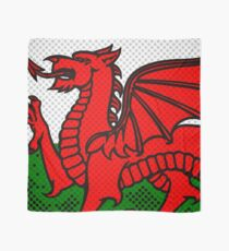 Welsh Dragon Scarf